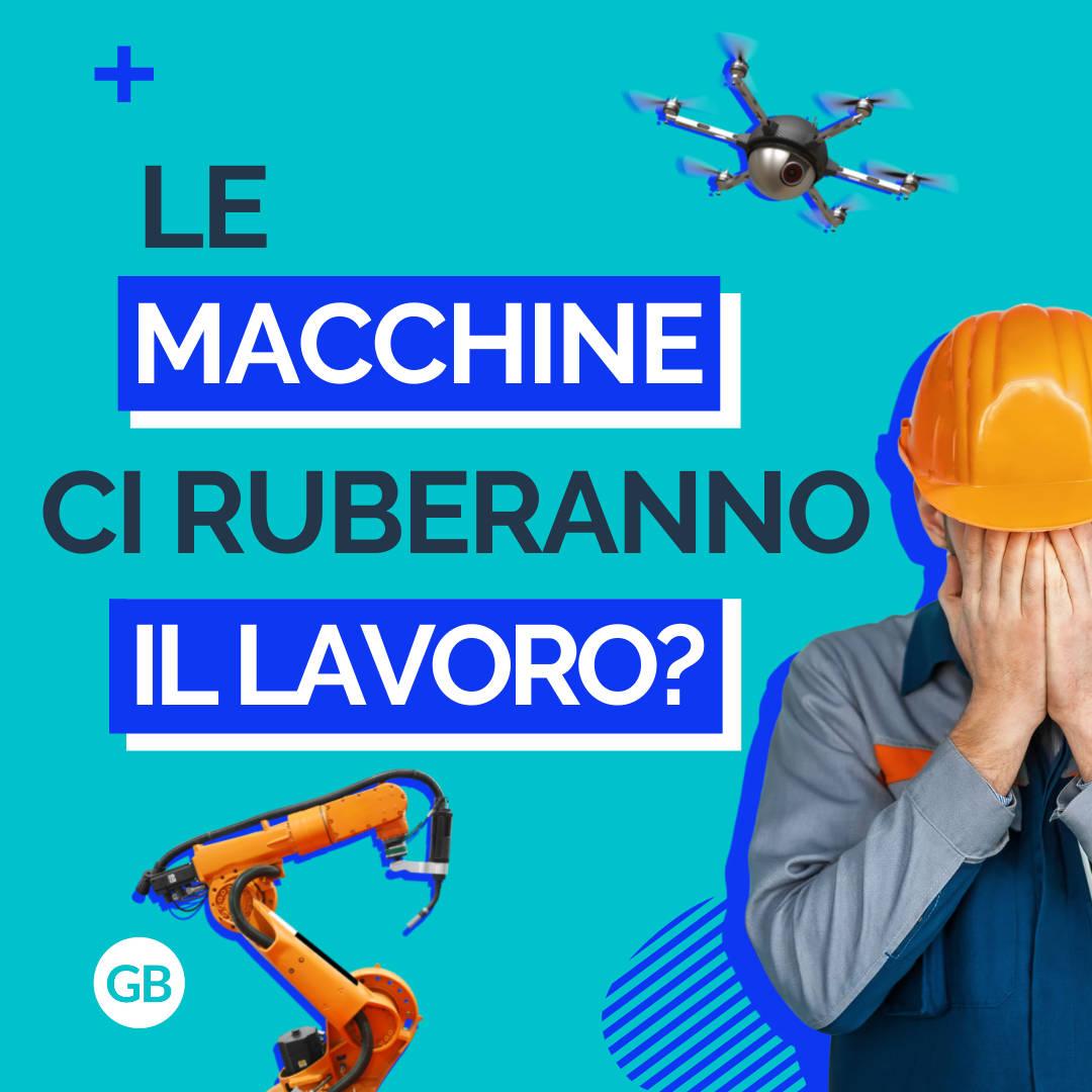 Il futuro del lavoro sarà dell'uomo o delle macchine?